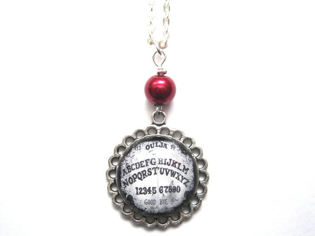 Ouija Board Cabochon Necklace - product images  of