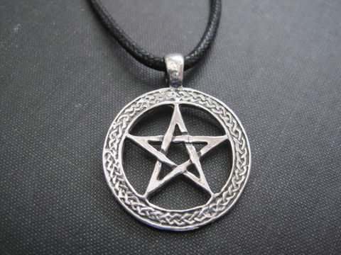 Pentacle,Cord,Necklace,pentacle cord necklace, pentagram, wiccan necklace, pagan, goddess necklace