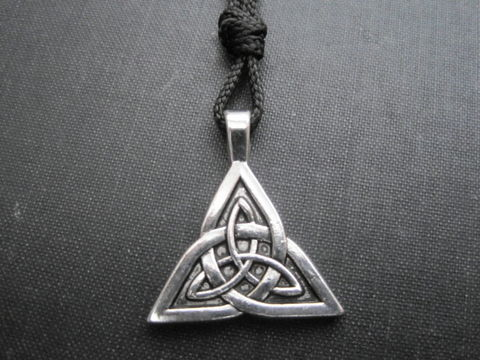 Celtic,Triquetra,Cord,Necklace,celtic triquetra cord necklace, triquetra, celtic necklace, goddess, pagan, wiccan