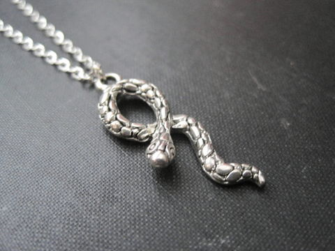 Gothic,Snake,Necklace,Gothic Snake Necklace