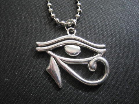 Eye,of,Horus,Necklace,eye of horus necklace, egyptian symbol, horus, ra, mystical symbol, handmade jewelry