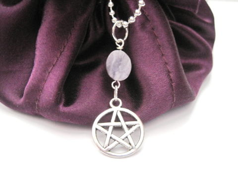 Pentacle,Fluorite,Necklace,,Pentagram,Necklace,Pentacle Fluorite Necklace, Pentagram Necklace, handmade jewelry, pagan jewelry, pentacle, gemstone