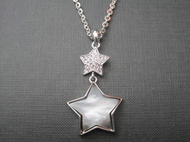 Double Star Shell Necklace - product images  of