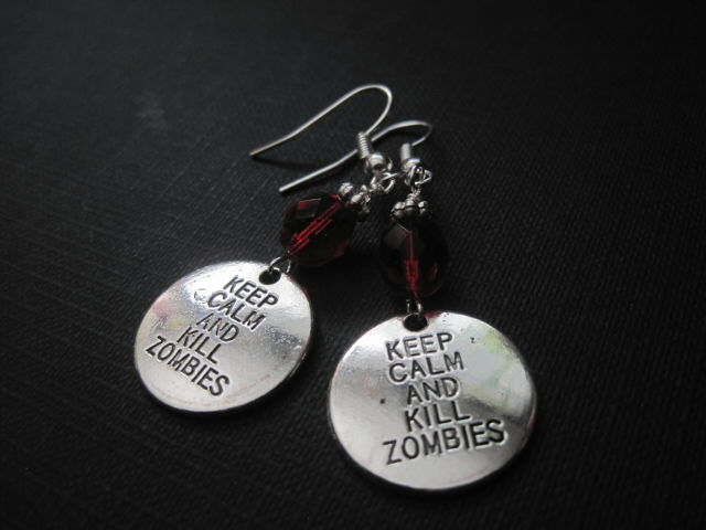 Zombie Kill Dangle Earrings - product images  of
