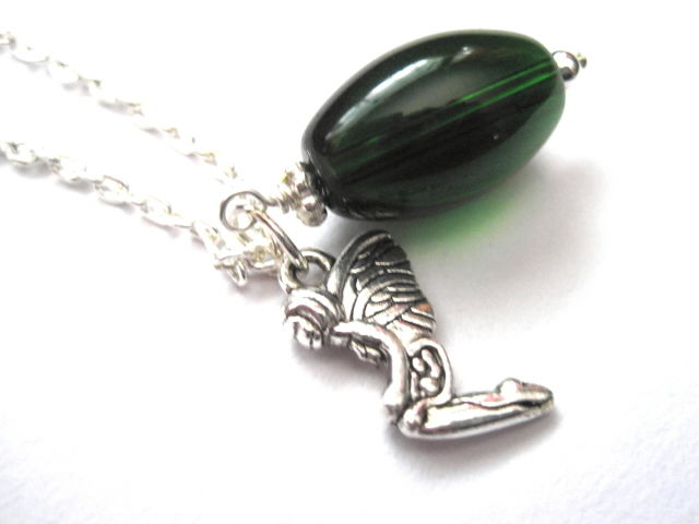 Green Fairy Absinthe Necklace - product images  of