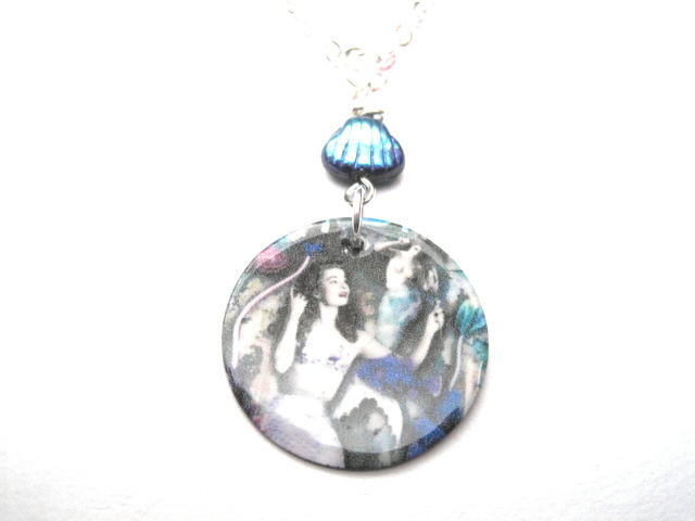 Mermaid Sea shell Necklace - product images  of