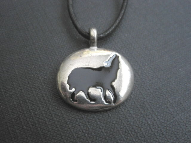 Wolf Totem Cord Necklace  - product image