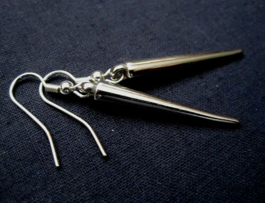 Vampire Spike Dangle Earrings - product images  of