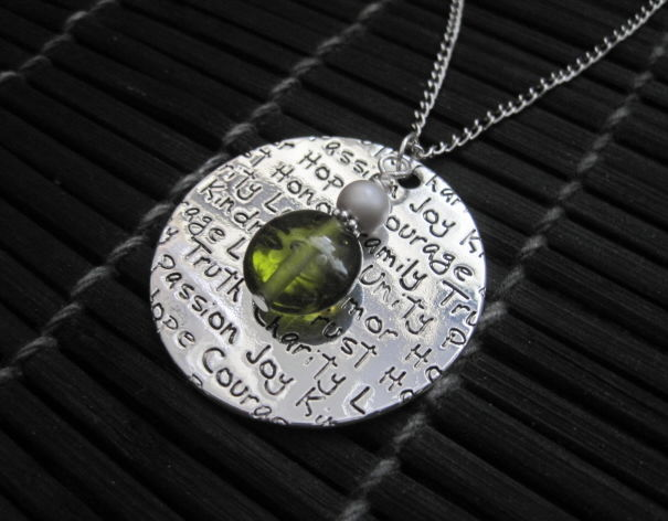 Inspirational Medallion Necklace - product images  of