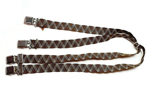 1930s,Deco,Vintage,Brown,Thin,Suspenders,Braces,in,Shades,Metal,Grips,1930s vintage suspenders, vintage braces, mens suspenders, vintage suspenders, thirties, deco, thin, another time vintage apparel, menswear, vintage mens accessories, for sale, deco design, downtonabbey, peakybinders
