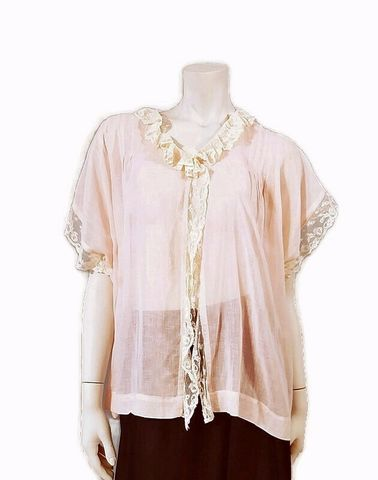 Antique,Edwardian,Pale,Pink,Combing,Morning,Jacket,Cotton,Batiste,with,Lace,Antique clothing, antique edwardian combing jacket, antique bed jacket, 1900s lingerie, edwardian morning jacket, antique lingerie, pale pink, anothertimevintageapparel, antique clothing, vintageclothing, vintage robe, feminine vintage robe, for sale