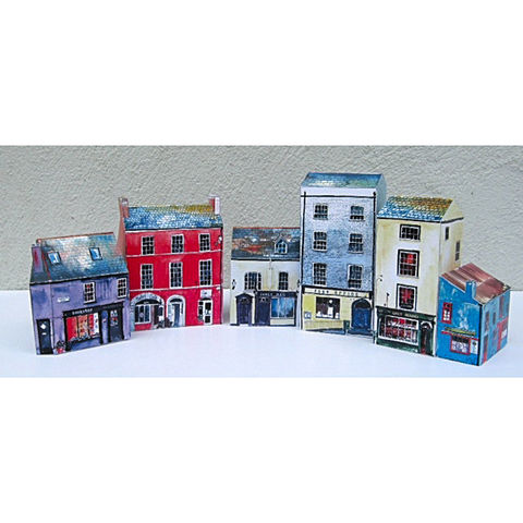 Tiny-Ireland-Kinsale-A4-street-model-kit,Tiny Ireland-Kinsale-A4-Model-Kit