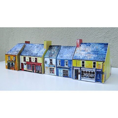 Tiny-Ireland-Schull-A4-street-model-kit,Tiny Ireland Schull A4 model kit