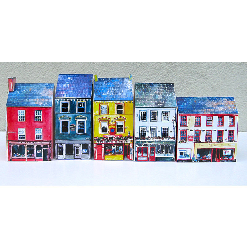 Tiny-Ireland-Skibbereen-A4-street-model-kit - product images  of