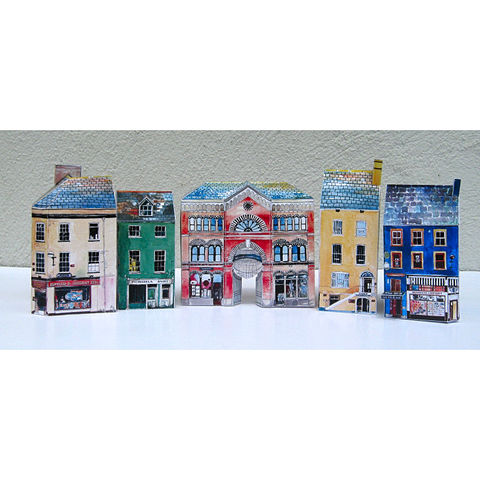 Tiny,Ireland,-,Cork,City,street,model,kit,tiny towns, tiny Ireland , west cork, cork city