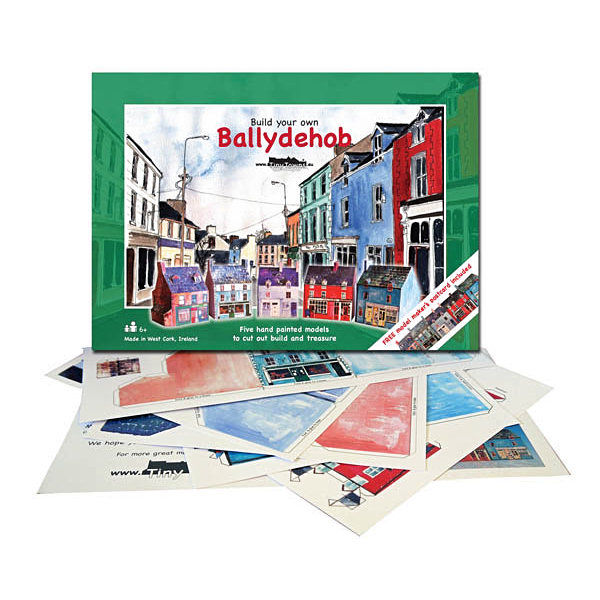 Tiny-Ireland-Ballydehob-A4-street-model-kit - product images  of