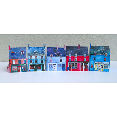 Tiny-Ireland-Ballydehob-A4-street-model-kit,Tiny Ireland-Ballydehob-West-Cork-Street-Model-Kit