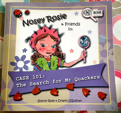 Nosey,Rosie,Book,-,by,Sharon,Rose,Designs,Nosey Rosie Book, Sharon Rose Designs