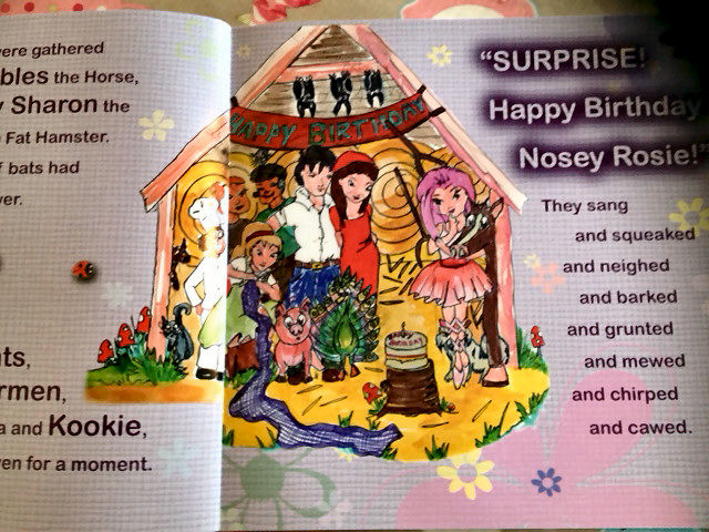 Nosey Rosie Book - by Sharon Rose Designs - product image