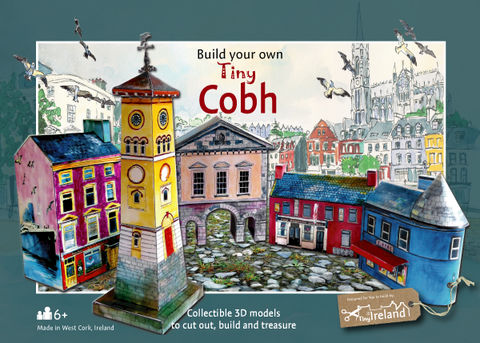 Cobh,Tiny,Ireland,Model,Kit,Cobh model kits