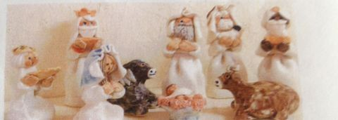 Abbey,Craft,Three,Kings,39,euros,each,figure,Abbey Craft Three Kings part of Nativity Set