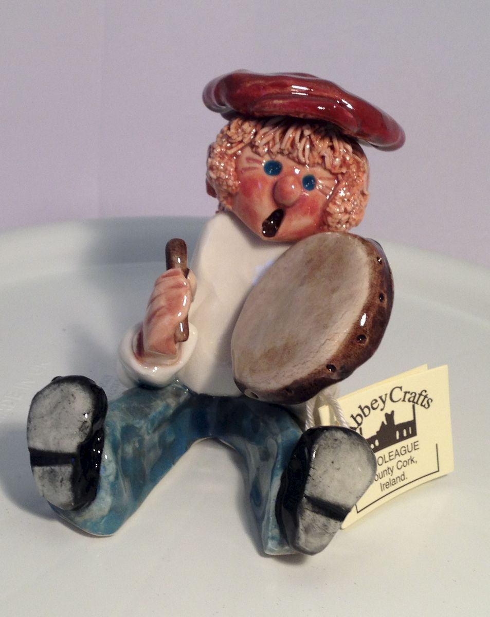 Little Man - Bodhran player - Abbeycrafts - product image