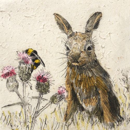 Wildlife Leveret mini print - product images