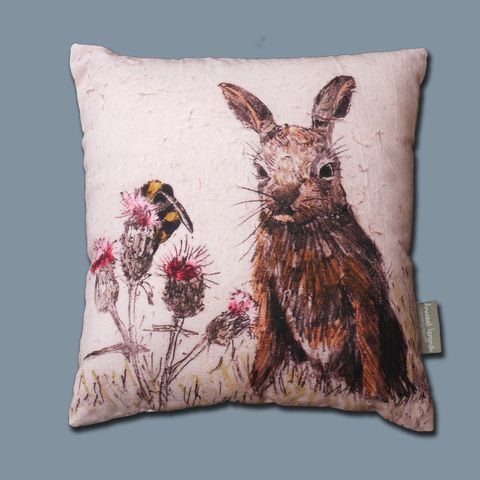 Wildlife,Leveret,Cushion,Leveret cushion