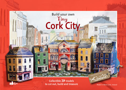 Tiny-Ireland-Cork-City-A4-Model-kit,Tiny-Ireland-Cork-City-model-kit