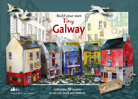Tiny-Ireland-Galway-A4-model,kit,Tiny-Ireland-Galway-City-model-kit