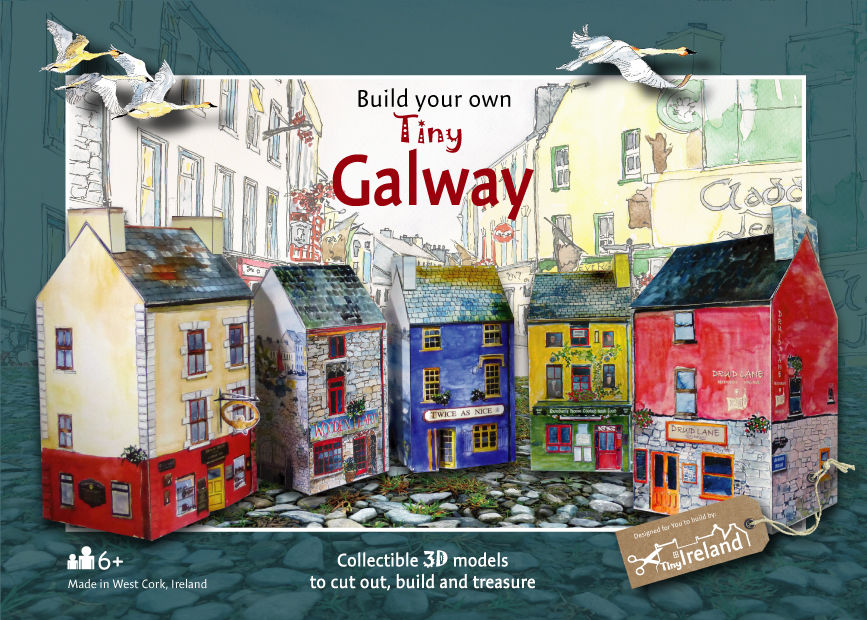 Tiny-Ireland-Galway-A4-model kit - product images  of