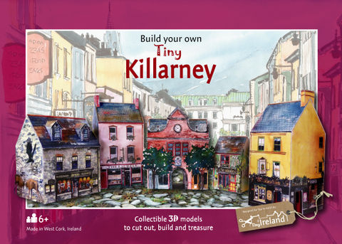 Tiny-Ireland-Killarney-street-A4-model-kit,Tiny Ireland, Killarney