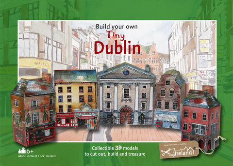 Tiny-Ireland-Dublin,A4-street-model-kit,Tiny-Ireland-Dublin-Street-Model-Kit