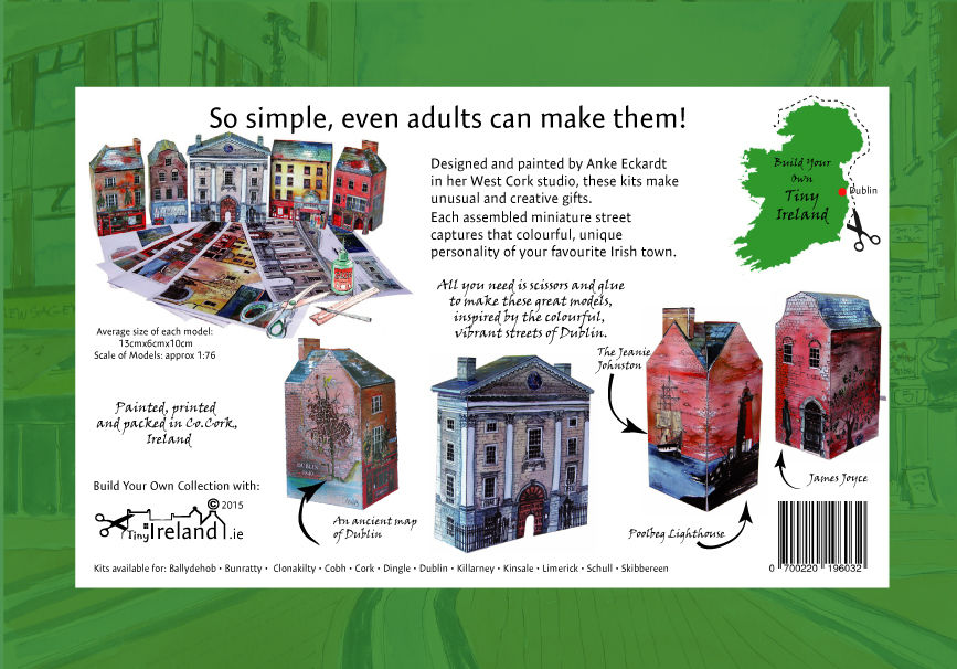 Tiny-Ireland-Dublin A4-street-model-kit - product images  of