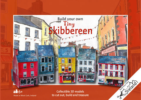 Tiny-Ireland-Skibbereen-A4-street-model-kit,Tiny Ireland Skibbereen A4 street model kit