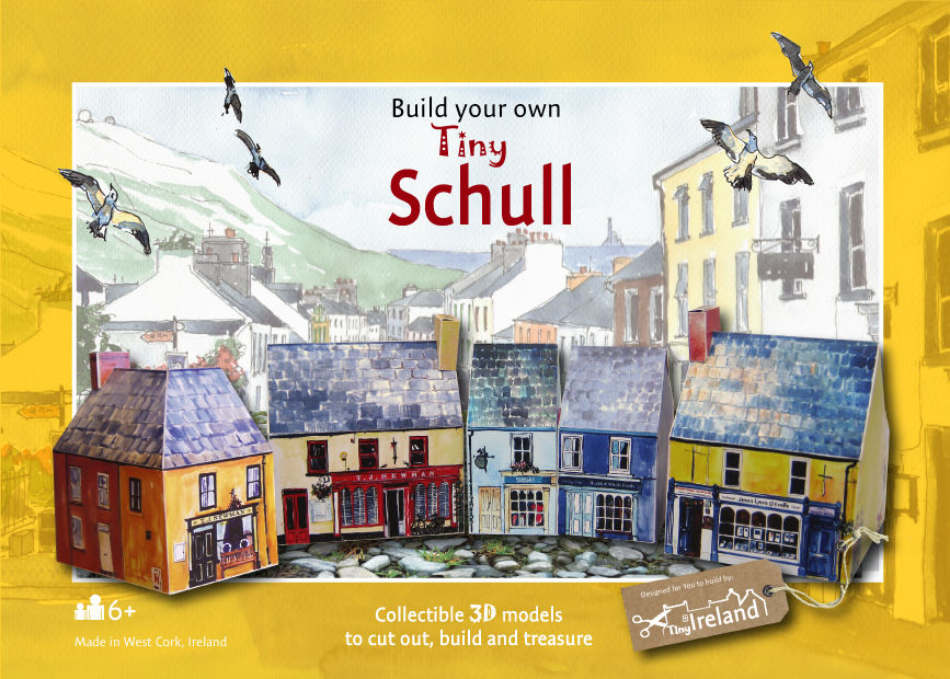 Tiny-Ireland-Schull-A4-street-model-kit - product images  of