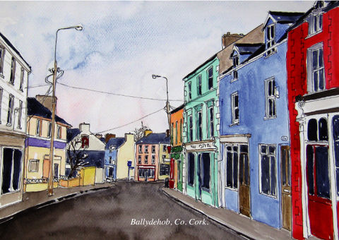 Tiny-Ireland-Print-Cards-14,towns/villages,Tiny Ireland 14 Print Cards