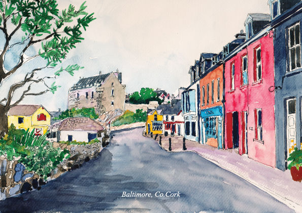 Tiny-Ireland-Print-Cards-14 towns/villages - product image