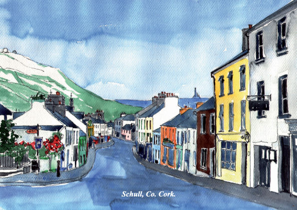 Tiny-Ireland-Print-Cards-14 towns/villages - product images  of