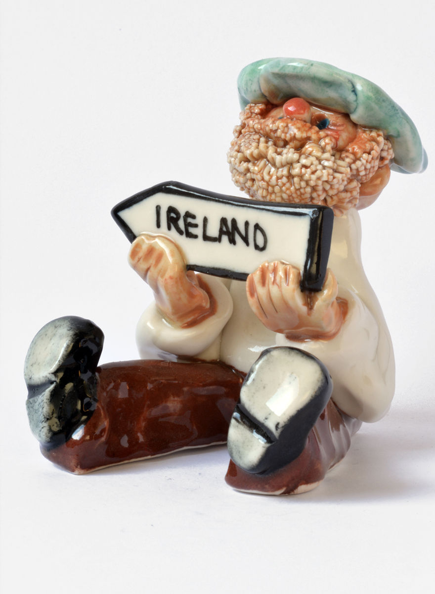 Abbey-Crafts-Little Man with Ireland sign - product images  of