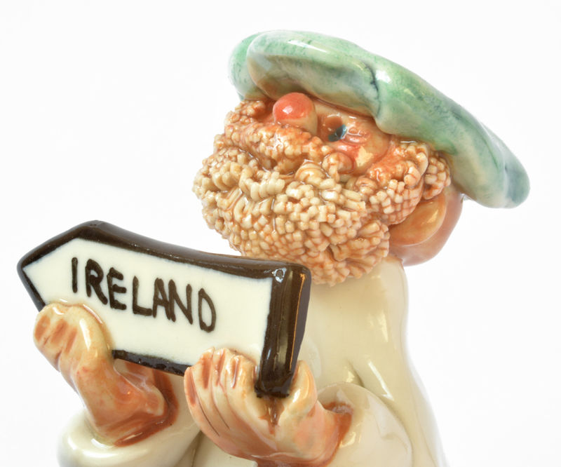 Abbey Crafts Little Man with Ireland sign - product image