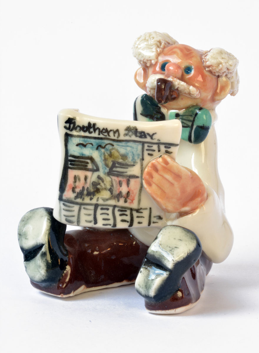Abbey Crafts Little Man-with-newspaper - Abbeycrafts  - product images  of