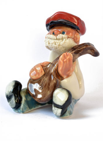 Little,Man,-,Banjo,player,Abbeycrafts,little man, porcelain, banjo player