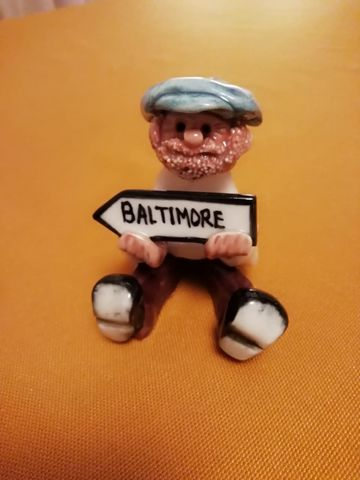 ABBEY-CRAFTS-BALTIMORE-MAN,Abbey Craft Porcelani figure, Baltimore