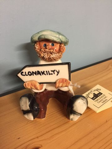 Abbey,Crafts,Clonakilty,Man,Abbey Crafts Porcelain Figures, Clonakilty