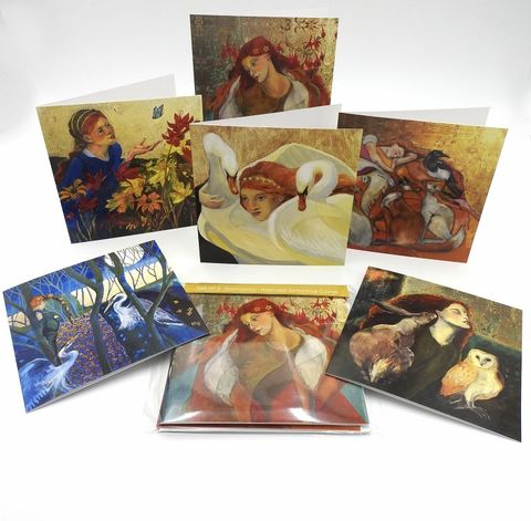 A,Set,of,6,Romantic,Themed,Greeting,Cards,Romantic themed greeting cards set of 6