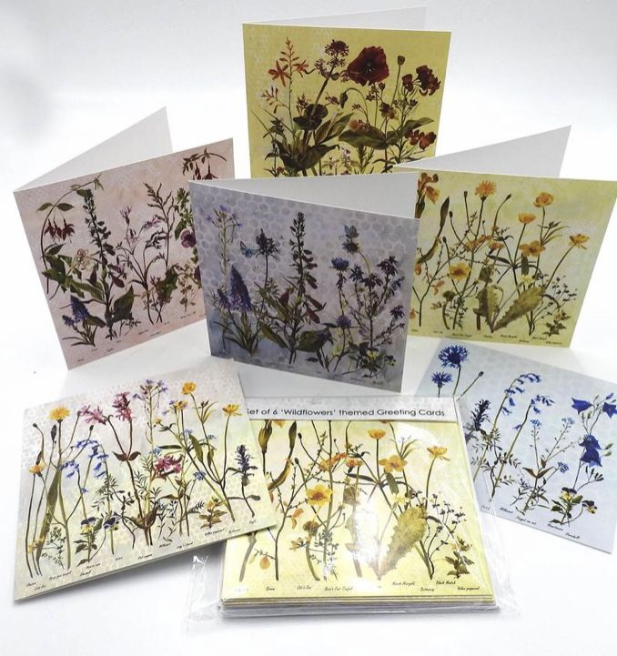 Wildflower Greeting Card Set  - product images