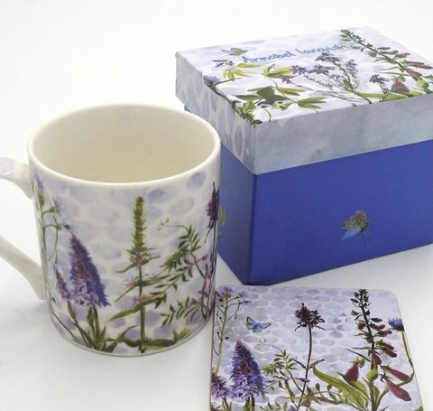 Wildflower,The,Blues,Mug,and,Coaster,Set,Wildflower The Blues Mug and Coaster Set