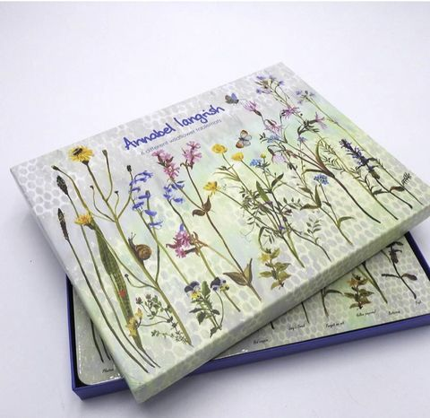 Wildflower,Table,Mats,Set,of,6,Table Mats Set