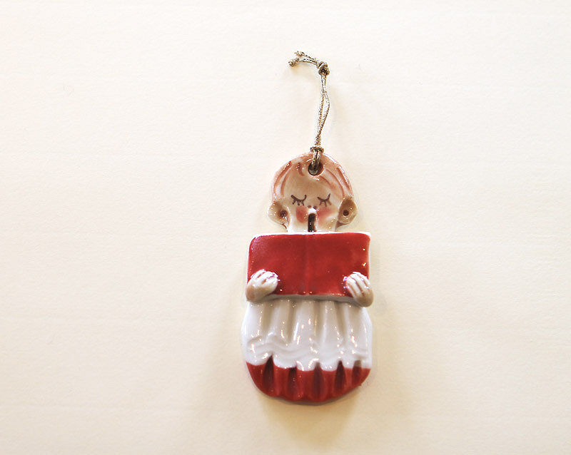 Christmas Tree Ornament - Choirboy2- Abbeycrafts - product images